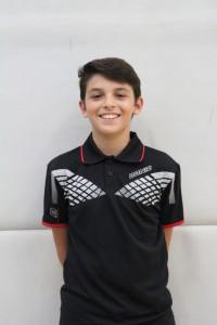 Man of the Match: Luca blieb im Einzel und Doppel ohne Satzverlust.
