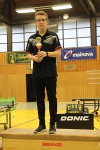 Souveräner Sieger bei der Jugend: Luca Rupperti
