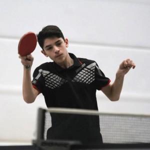 Luca zeigte bei seinem ersten Einsatz in der Jugend-BOL keine Spur von Nervosität.