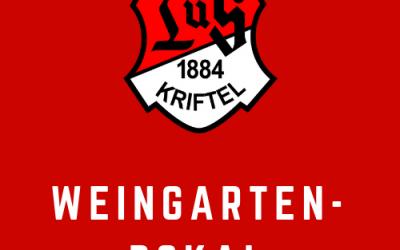 Vorschau: 26. Weingarten-Pokal und 4er Tisch-Turnier im Juni 2019